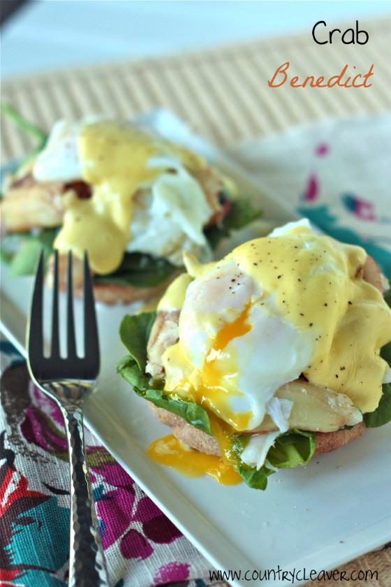 Crab Benedict | Easy Easter Recipes You'll Crave All Year Round