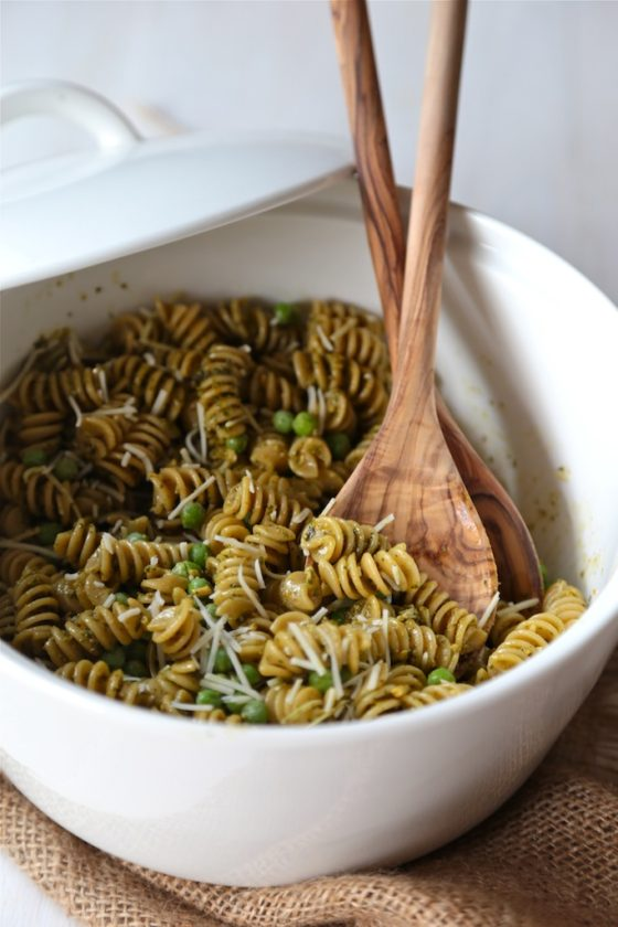 Spring Pea Pesto Pasta Salad Quick Easy And Perfect For A Light