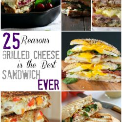 25 Reasons Grilled Cheese is the Best Sandwich EVER - So many choices from Cubans to Jalapeno Popper Grilled Cheese!
