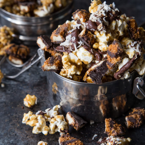 Samoas Moose Munch - Get this and 8 other AMAZING out of the box Girl Scout Cookie Creations!