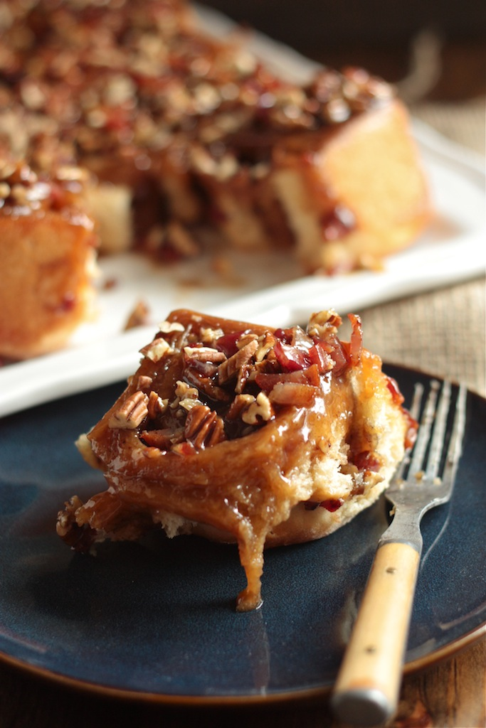 Bourbon Bacon Pecan Sticky Buns